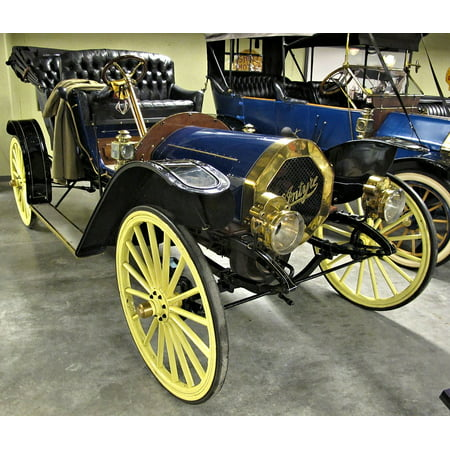 Peel-n-Stick Poster of Perfect Restoration Canada Antique Car Museum Poster 24x16 Adhesive Sticker Poster Print