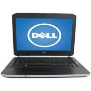 "Refurbished Dell Black 14"" E5420 Laptop PC with Intel Core i5 Processor, 6GB Memory, 320GB Hard Drive and Windows 10 Home"