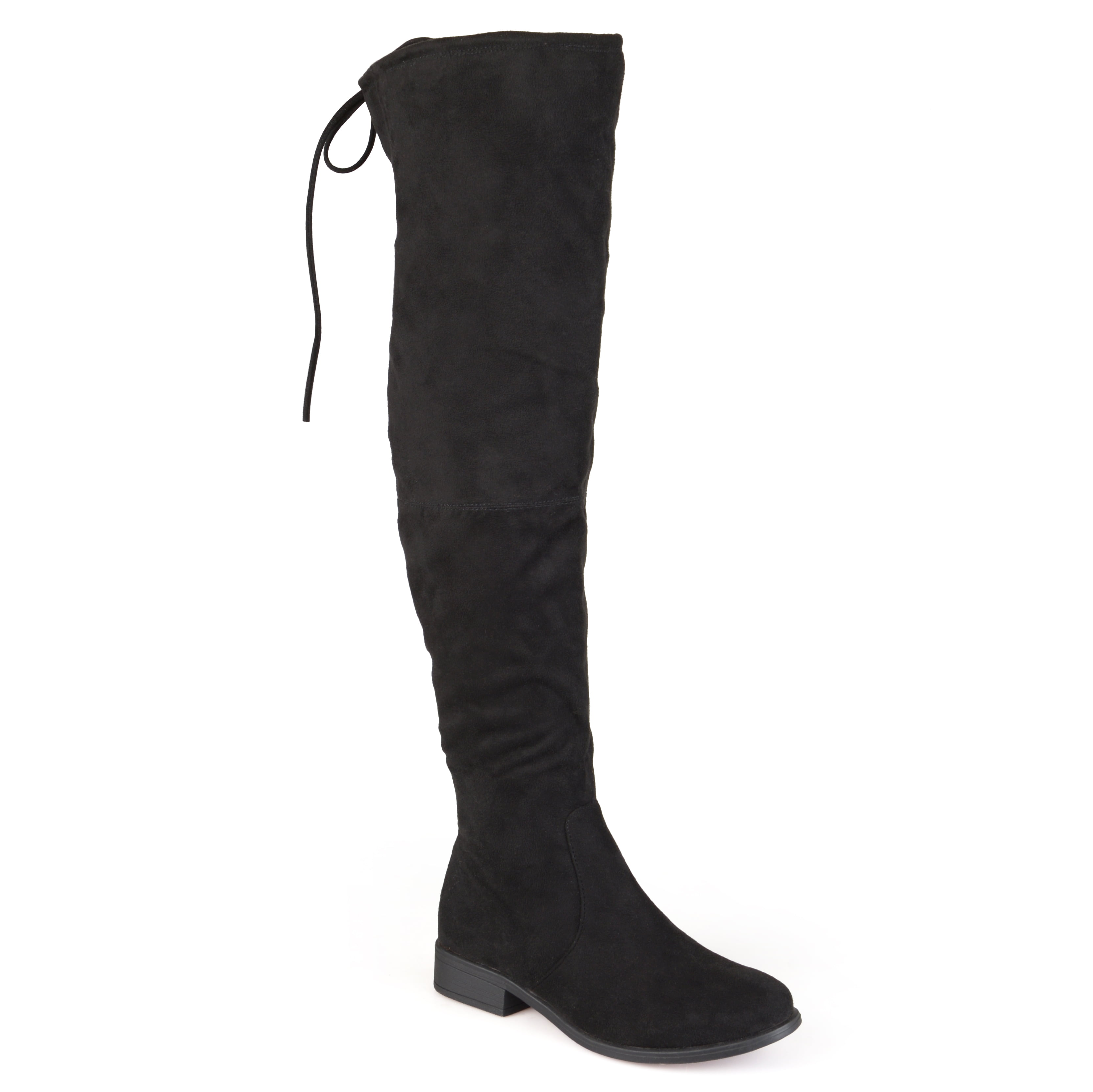 Women's Faux Suede Over-the-Knee Boots
