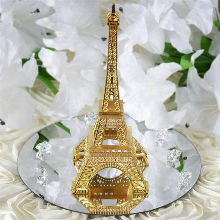 BalsaCircle 6 inch Eiffel Tower Centerpiece - Party Wedding Home Dinner Table Kids Room - Paris Tower Centerpieces