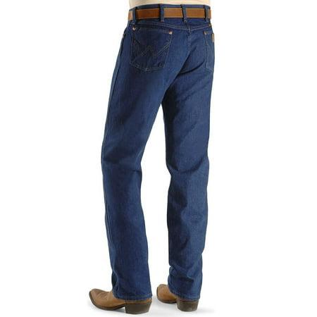 Prewashed Jeans - Wrangler Men's 13Mwz Prewashed Regular Fit Jeans Tall - 13Mwzpw_X6