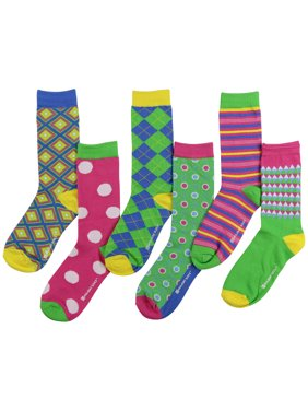 faa5f1c8b6793 Product Image Womens Funny Ugly Holiday Holiday Crew Socks (6 Pack)  (Christmas