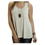 Stetson Western Shirt Womens Lattice Tank Cream 11-037-0514-0218 WH