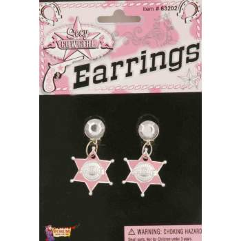 COWGIRL STAR EARRINGS - Plus Size Cowgirl