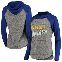 Golden State Warriors G-III 4Her by Carl Banks Women's Championship Ring Raglan Pullover Hoodie - Gray/Royal