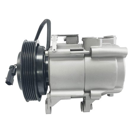 RYC Remanufactured AC Compressor and A/C Clutch FG184 Fits 2006, 2007, 2008 Jeep Liberty 3.7L; 2007, 2008 Dodge Nitro 3.7L ()