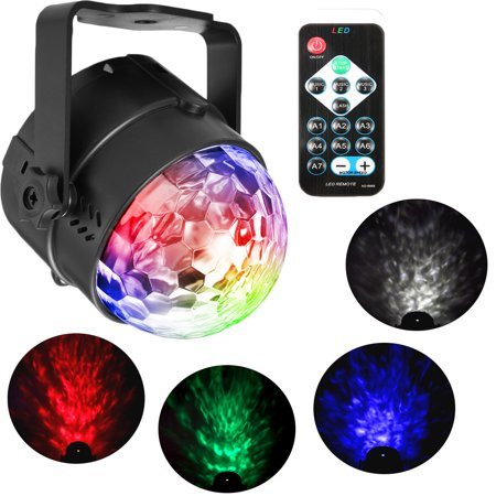 Party Lights, Solmore Sound Activated Disco Ball Strobe Light 7 Lighting Color with Remote Control for Bar Club Birthday Party DJ Karaoke Xmas Wedding Show and Outdoor - Strobe Christmas Lights