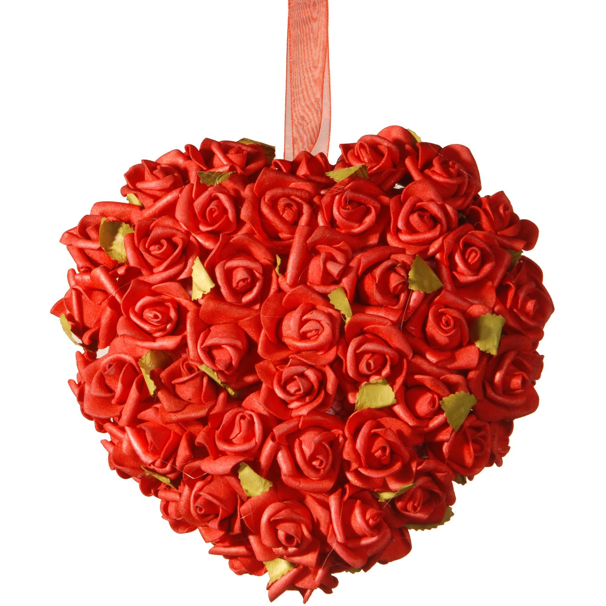 "7"" Valentine Rose Heart"