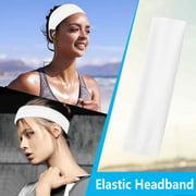 12 Colors Women's Yoga Cotton Elastic Headband Sports Headband