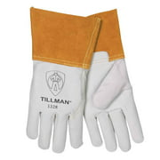 "Tillman 1328 Top Grain Goatskin TIG Welding Gloves 4"" Cuff, Large"