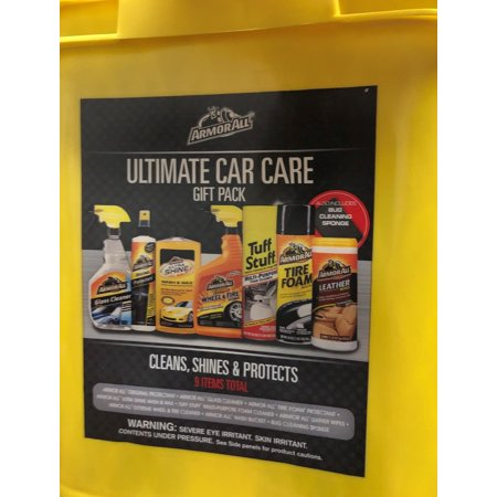 Armor All Ultimate Car Kit Gift Pack Bucket (Ultimate Gift Pack)