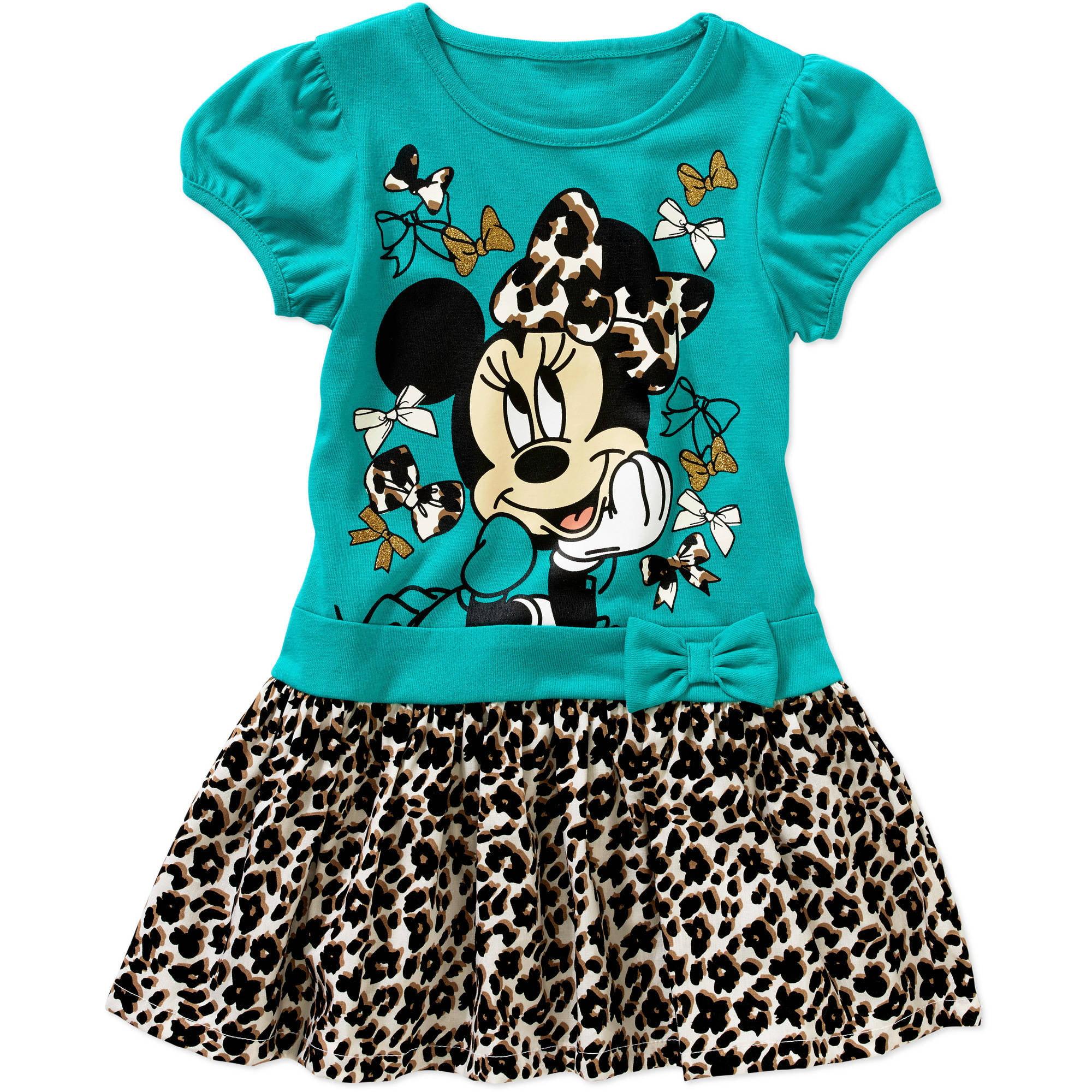 Minnie Mouse Toddler Girls' Tee Shirt Tutu Dress