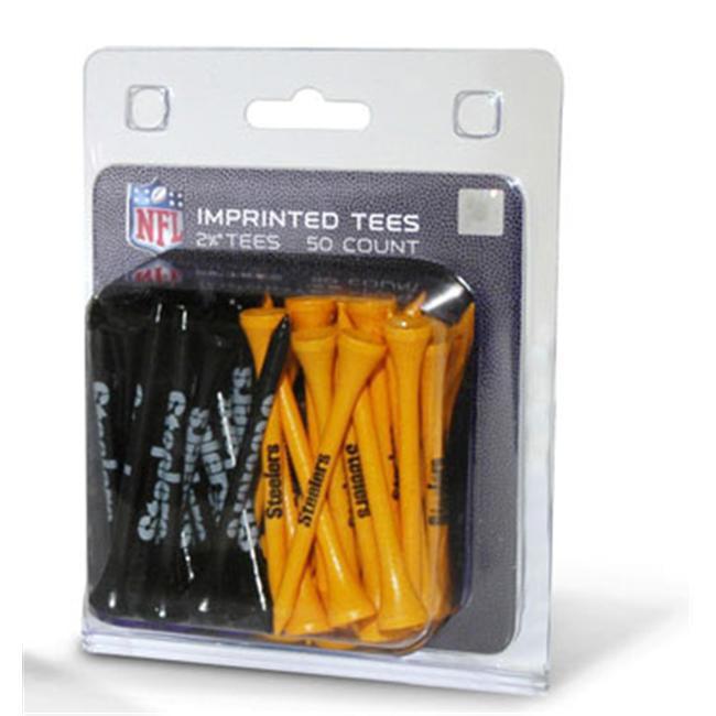 Team Golf 32455 Pittsburgh Steelers 50 Imprinted Tee Pack