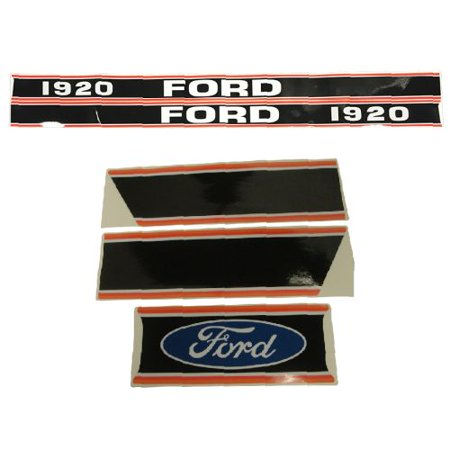 DECAL SET For Ford New Holland 1920 COMPACT TRACTOR - 1920 Decorations
