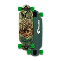 d90ad7d04be6 Product Image Fathom by Shark Wheel Kraken Mini Drop Longboard Skateboard  Complete, Teal