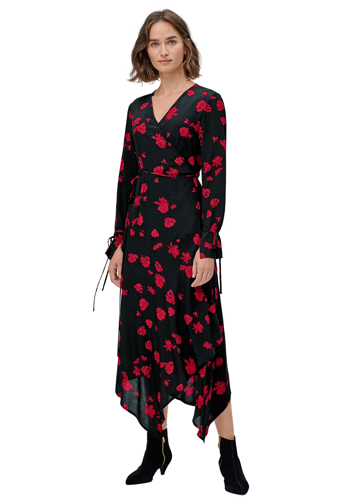 Ellos Womens Plus Size Sophia Wrap Dress