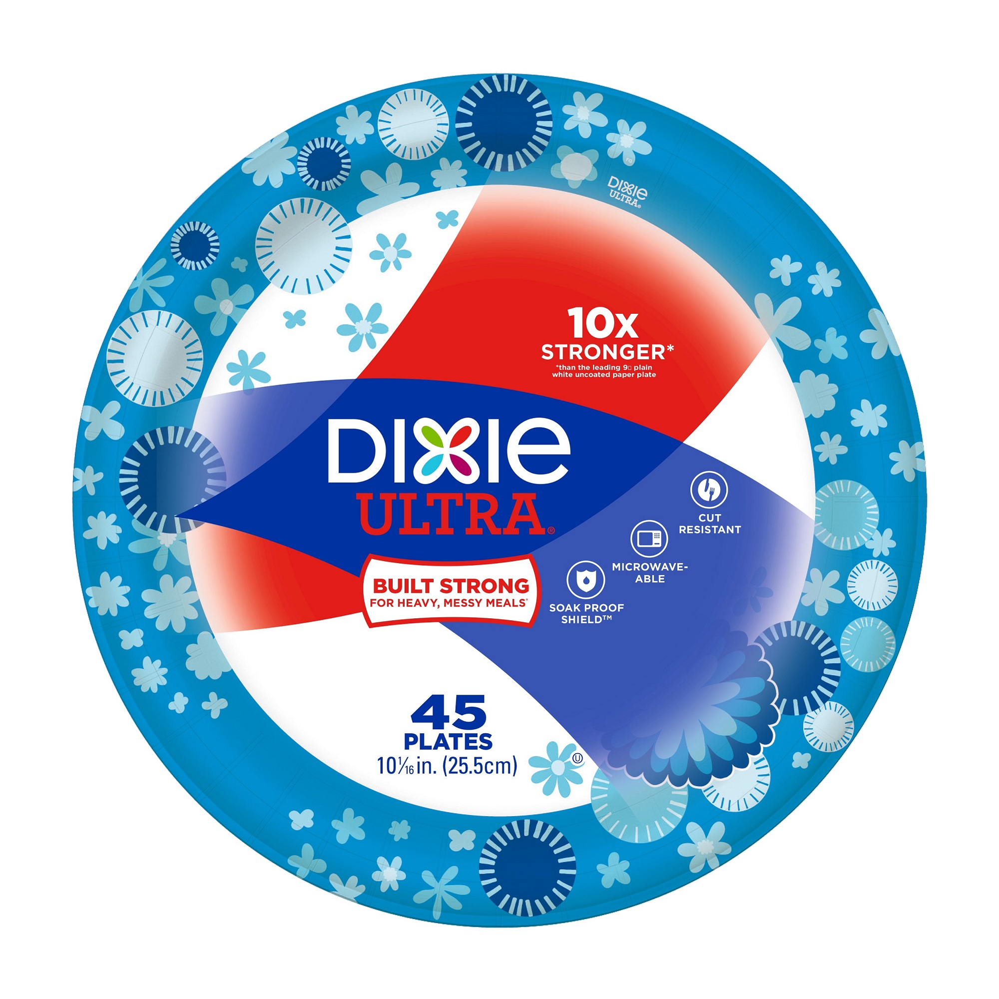 sc 1 st  Walmart & Dixie Ultra Paper Plates 10 1/16