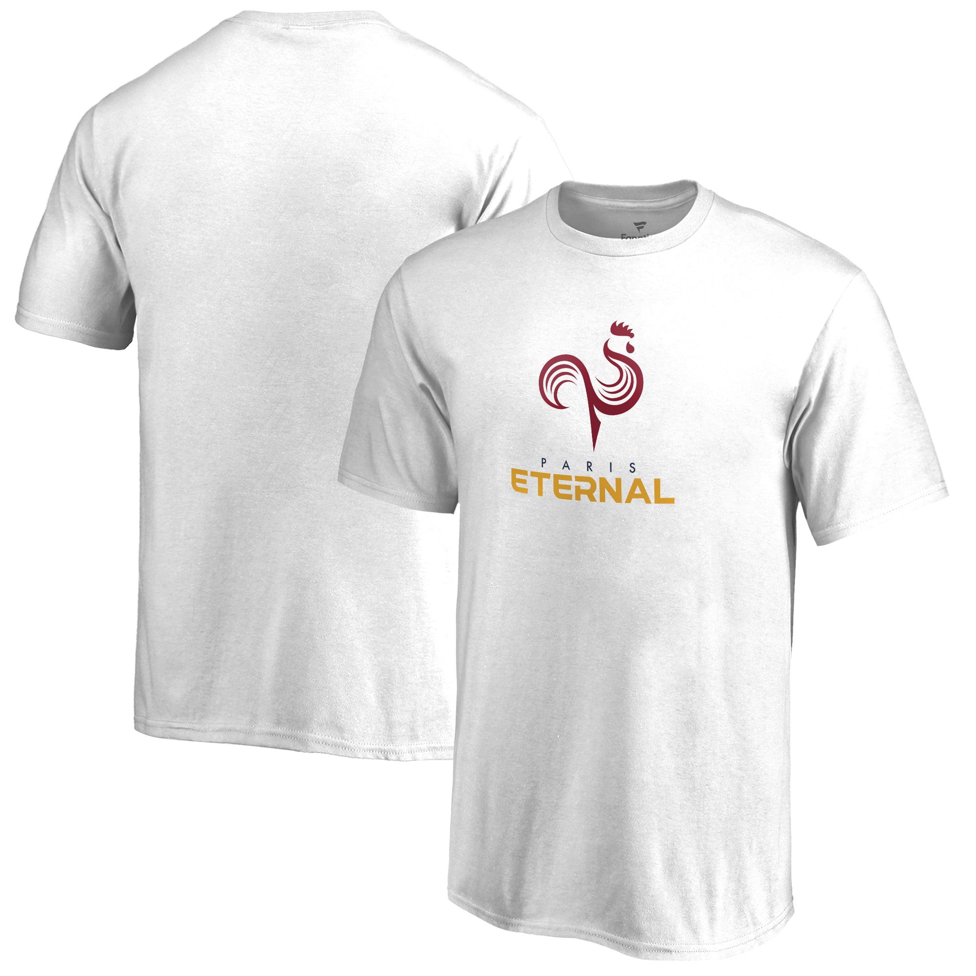 Paris Eternal Fanatics Branded Youth Team Identity T-Shirt - White