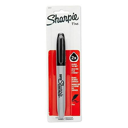 - SanFord #33101 Black Super Bold Sharpie