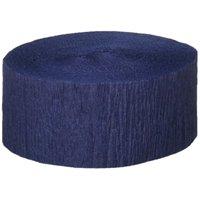 FR Festive Crepe Streamer (dark blue) Party Accessory (1 count) (1/Pkg)