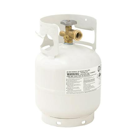 - Flame King YSN5LB 5lb Propane Tank Cylinder