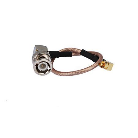 1Ft Rf Terminal Connector Bnc Male To Mc Card Plug Right Angle Coaxial Cable Extension Rg316 30Cm For Wireless Antenna