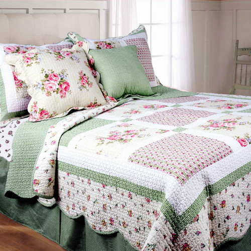 Textiles Plus Inc. Spring Patch Mini Quilt Set