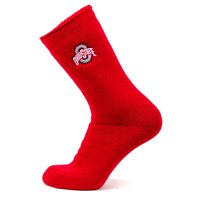 Ohio State Buckeyes Red Thermal Sock