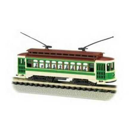Bachmann Brill Trolley - Green - N Scale Multi-Colored Bachmann Brill Trolley