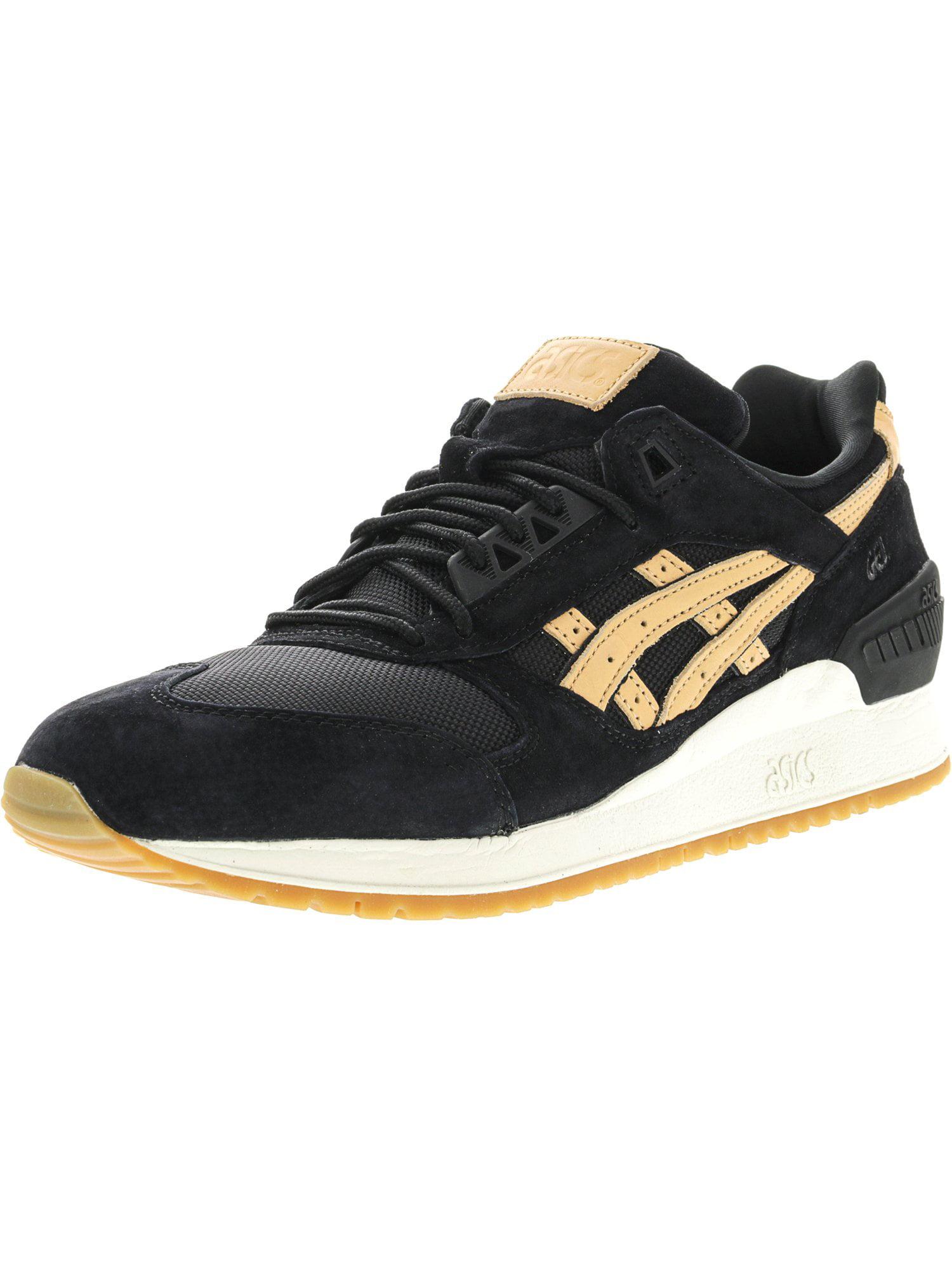 Asics Men's Gel-Respector Black / Sand Ankle-High Suede Fashion Sneaker - 10M