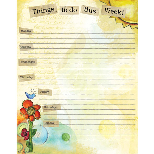 Lang Color My World Jumbo Weekly Planner