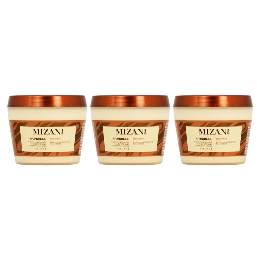 Mizani Rose H2O Conditioning Hairdress 8oz (Pack of 3)