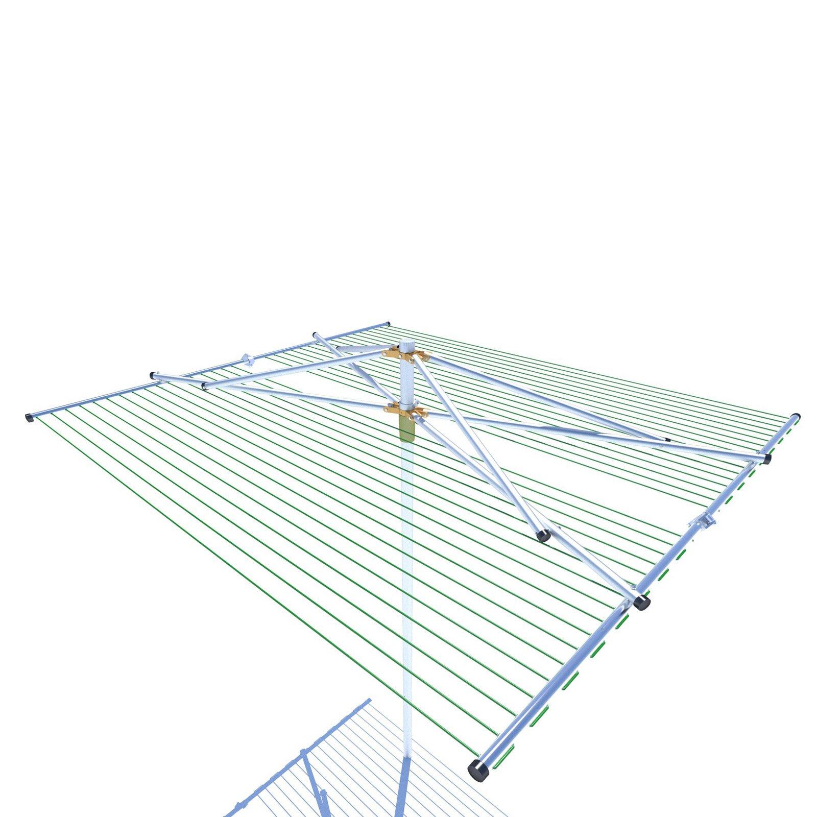 Breezecatcher PLD-204 Parallel Outdoor Umbrella Clothesline