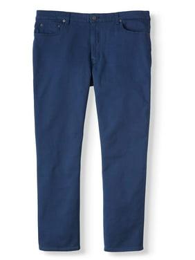 George Men's Premium 5 Pocket Twill Pants