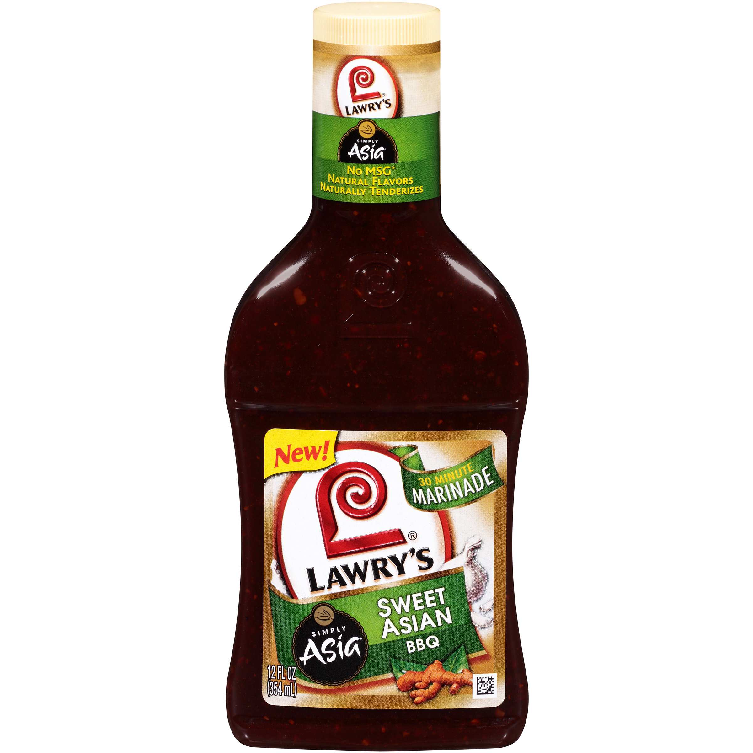 Lawry's® Sweet Asian BBQ Marinade With Simply Asia®, 12 fl oz