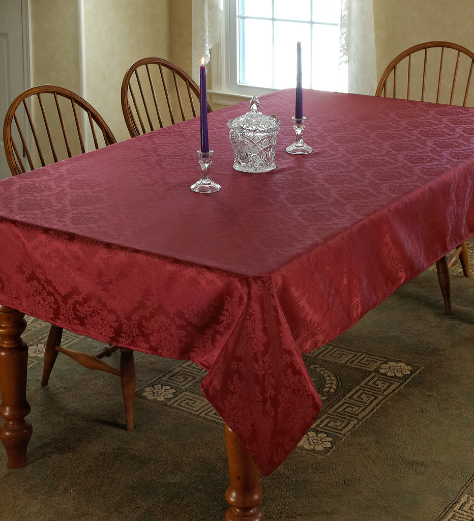 European Damask Design Tablecloth
