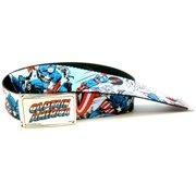 Comic Book Marvel Licensed Web Belt & Buckle