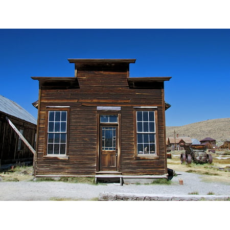 LAMINATED POSTER Ghost California West History Bodie Town Old Poster Print 24 x (West Town Center)