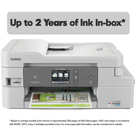 Brother MFC-J995DW XL INKvestment Tank Color Inkjet All-in-One Printer with Up to 2-Years of Ink