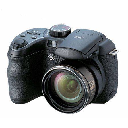 GE X400 Black 14MP Digital Camera with 2.7