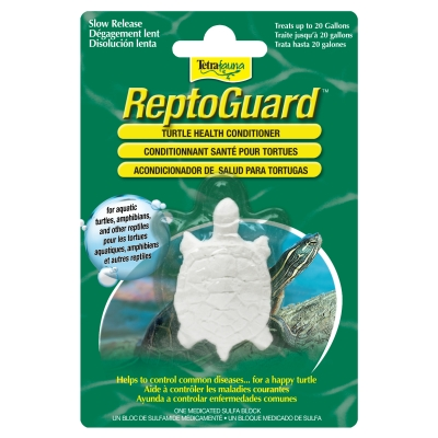 Tetra Fauna: Reptoguard Turtle Health Conditioner Block, 1 Ct