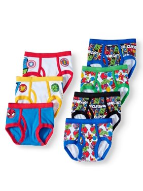 Marvel Superhero Adventures Toddler Boys' Underwear Briefs, 7-Pack