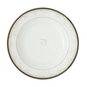 "Large Rim Soup Plate - BROCADE RIM SOUP PLATE, 9"""