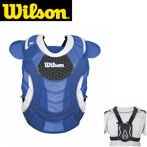 Wilson ProMOTION Fastpitch Chest Protector - 16.5in Adult - Royal
