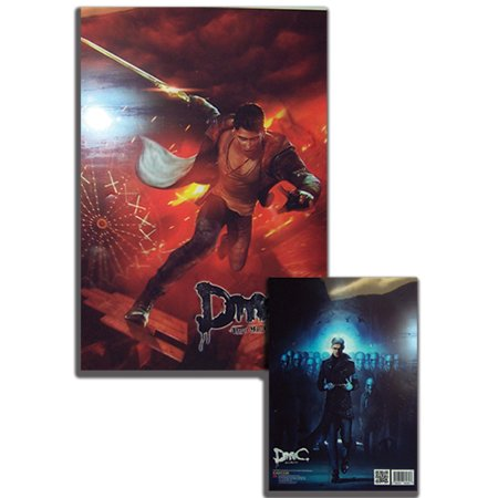 File Folder - DMC - New Dante & Vergil (Set of 5) Devil May Cry Anime ge26060 (Dmc Dante Coat)