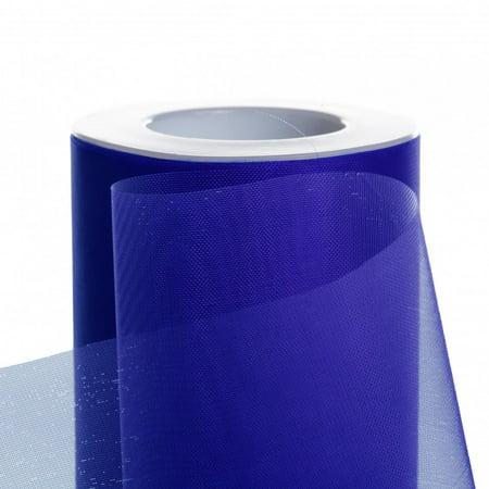 Koyal Wholesale 25-Yard Sheer Organza Fabric Roll, 6-Inch, Royal Blue - Wholesale Diva