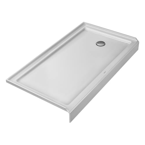 "Duravit 720144 Architec 60"" x 32"" Rectangle Shower Tray with Panel by Duravit"