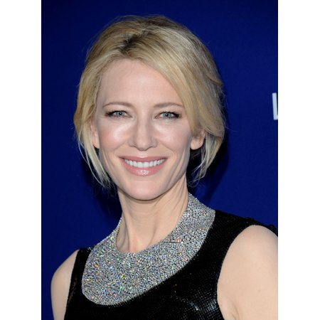 Cate Blanchett (Wearing A Tiffany & Co Necklace) At Arrivals For 18Th Costume Designers Guild Awards Canvas Art -  (16 x 20) - Tiffany Costume