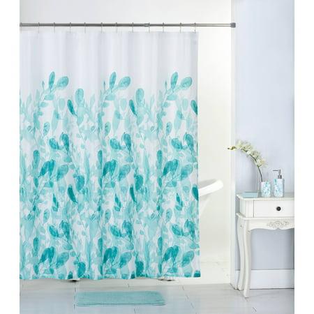 Mainstays 17-Piece Bathroom Set, Eucalyptus ()