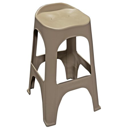 Adams Manufacturing RealComfort Recycled Plastic 30 in. Backless Barstools - Set of 2 ()
